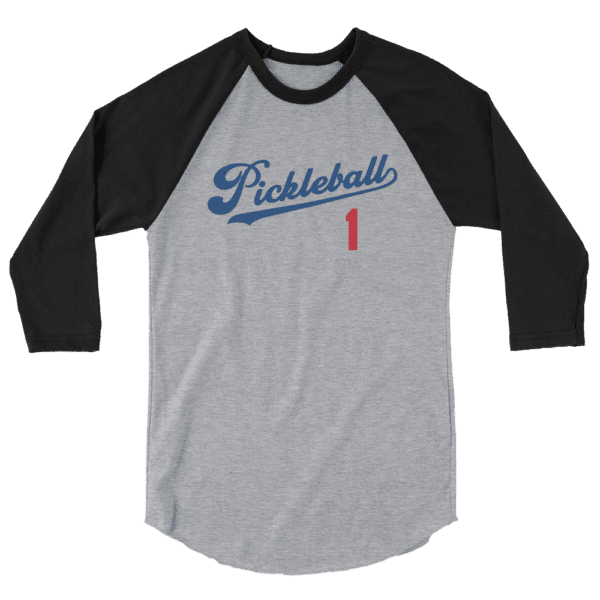 Click to buy this raglan pickleball shirt