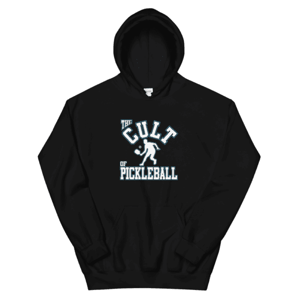 Click to buy this unisex pickleball hoodie