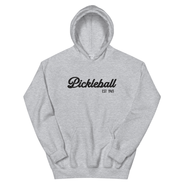 click to buy this pickleball hoodie