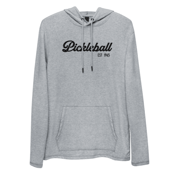 Click to buy this classic unisex pickleball hoodie