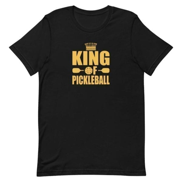Click to buy King of the Pickleball Court Shirt