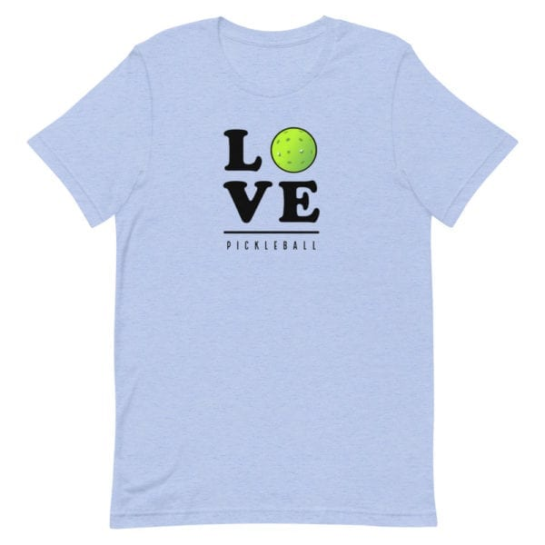 click to buy this I Love Pickleball Men's Shirt