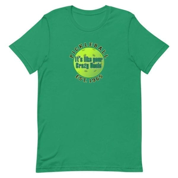 Click to buy Pickleball It's Like Your Crazy Uncle shirt