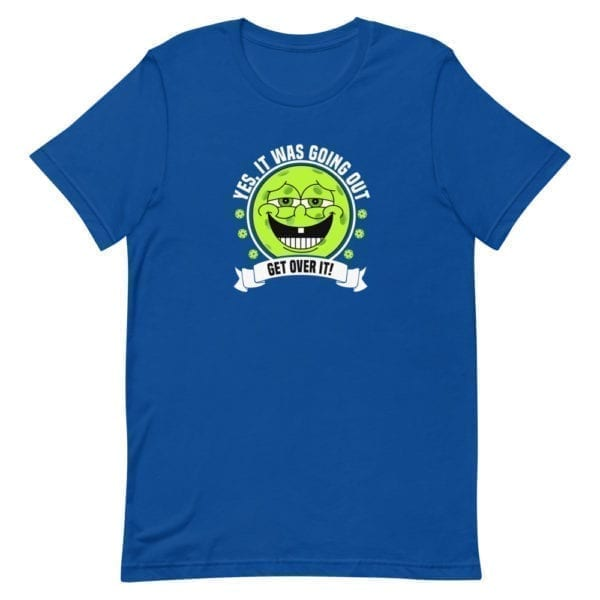 Click to buy this funny pickleball shirt for men