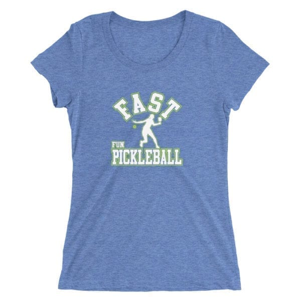 Click to buy this Fast Fun Pickleball Shirt for Women
