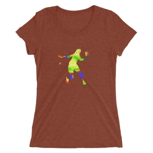 Click to buy Colorful Women's Pickleball Shirt