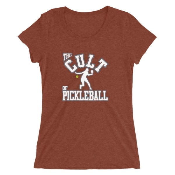 Click to buy Cult of Pickleball Shirt for Women