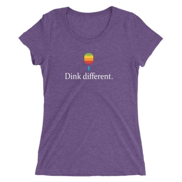 Click to buy Dink Different Women's Pickleball Shirt
