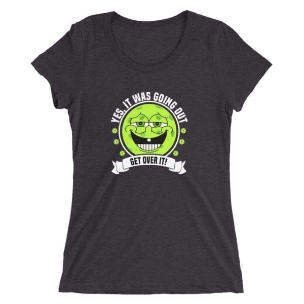 Click to buy this funny ladies pickleball shirt