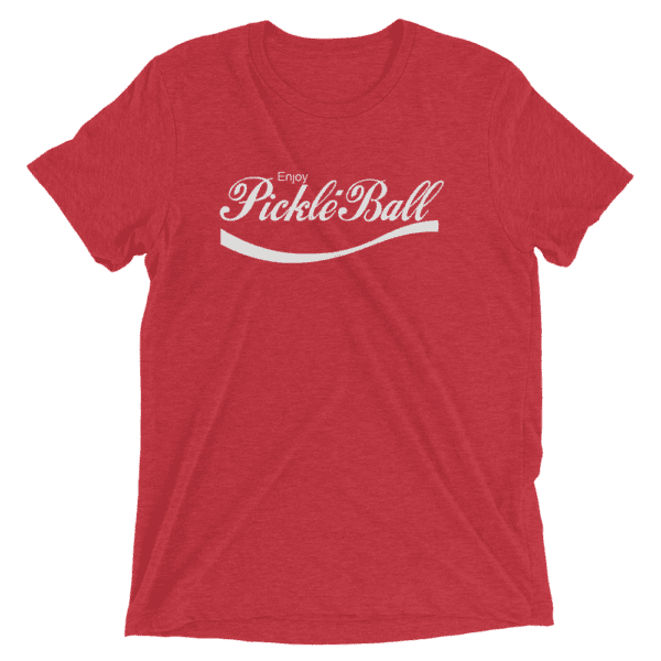 Click to buy this Enjoy Pickleball Tri-Blend Unisex Tee